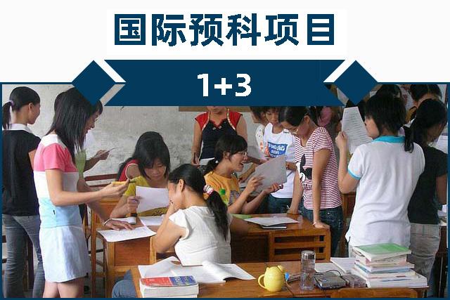 国际预科1+3项目